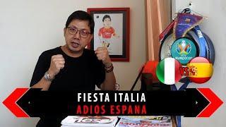 FIESTA ITALIA, ADIOS ESPANA