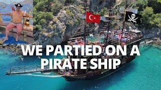 WE PARTIED ON A PIRATE SHIP in TURKEY ???????? | Ölüdeniz, Fethiye