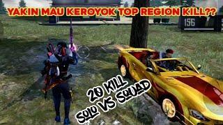 DI KEROYOK 2 SQUAD DI PEAK - 20 KILL SOLO VS SQUAD