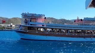 Boat Trip Crazy Summer Fantastic Boat Tour Marmaris Türkiye