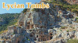 Marmaris, Lycian Tombs - Visit Turkey in pandemic ep 15 - #travel #video #tourism #vlog #calatorii