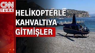 """Marmaris'teki plaja inen helikopterin pilotu: """"Kahvaltı yapmaya gitmiştik"""""""
