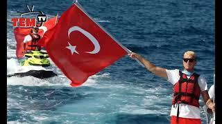 #Marmaris Şehitler Anısına Denize Çelenk Bıraktılar