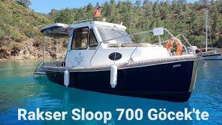 ✅ Rakser Sloop 700 ile Göcek koylarını gezdik. Tüm ekip buluştuk.