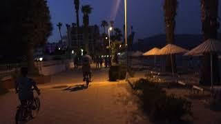 Marmaris Akşamı Sahilde Yürüyüş
