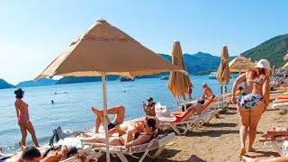 MARMARIS BEACH, TURKEY 4K Walk // Best Beaches in Turkey