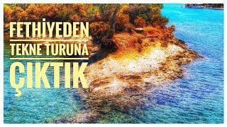 Fethiye'de Tekne Kiralamak Ne Kadar ? | Gezi Teknesi ile 12 Adalar Turu