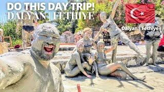 I CAUGHT CRABS IN TURKEY! | MUD BATHS in DALYAN, FETHIYE DAY TRIP ????????