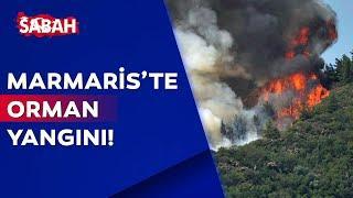 FLAŞ! Marmaris'teki orman yangınına çok sayıda ekip müdahale ediyor!