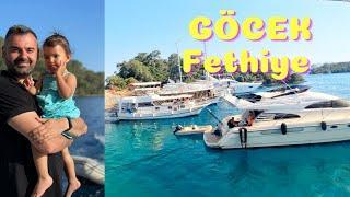 FETHİYE GÖCEK KOYLARI | Göcek koylarını  görmeden tekne turu yaptım demeyin !!! |