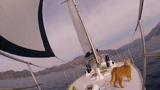 Zorlu bir süreç Arma Değişimi 12. Bölüm Sailing to Marmaris from Göcek to Replace Rigging