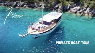 Private Boat Tour | Fethiye | Turkish Riviera