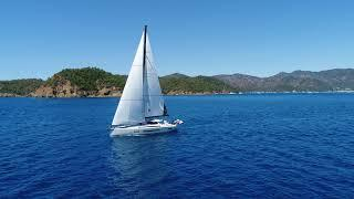 Sailing with amel 60 in Göcek