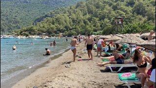 Sarsala koyu plajı | Beach walk Dalaman Muğla  Turkiye
