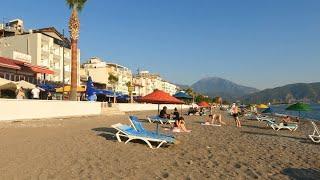 What Çalış Beach/Çalış Plajı (including the sea) looks like on July 6, 2021