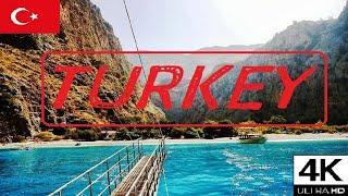 ⛵ Boat Trip in Mediterranean Sea / Fethiye /Turkey / 4K ????????