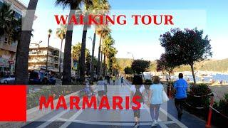 4K Marmaris Walking Tour 2021, Muğla TURKEY. #WalkTurkey #VisitTurkey