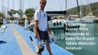 SK Yachting Kiralama Filosunda ePropulsion Elektrikli Dıştan Takma Motorları Kullanıyor