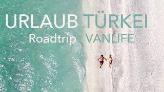 URLAUB TÜRKEI VLOG ROADTRIP Salda See Pamukkale Kabak Fethiye schönsten Strände der Türkei
