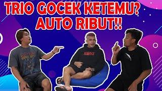 TRIO GOCEK KUMPUL!! HAMKA & VICKY MARAH GARA-GARA PAS DI BALI BILLY NINGGALIN