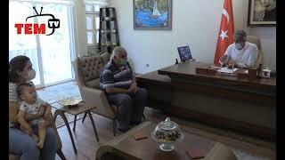 #Marmaris Şehit Görkem Hasdemir'in Ailesinden Başkan Oktay'a Ziyaret
