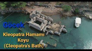 Kleopatra Hamamı Koyu (Cleopatra's Bath), Göcek / Türkiye