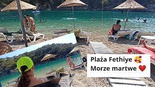 Plaża Fethiye ???? Martwe morze ❤️