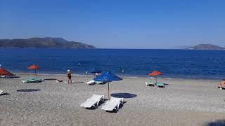 FETHIYE Çalış beach and the view of Çalış harbour..????????????????????????????????????