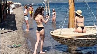 İçmeler Marmaris Beach Muğla Turkiye Walking tour