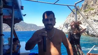 Boat Trip Crazy Summer Fantastic Boat Tour Fosforlu Mağara Marmaris Türkiye