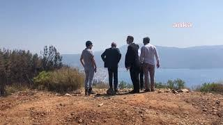 "CHP'DEN YANGIN ÇIKAN MARMARİS'TE BAKANA ÇAĞRI: ""THK UÇAKLARINI KULLAN. BU MANZARAYA OTEL"