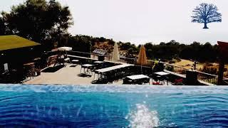 Boutique hotel for sale in Fethiye Faralya new building 1000m² land sea view with restaurant