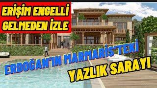 Erdoğan'ın Marmaris'teki Yazlık Sarayının Fotoğrafları Ortaya Çıktı. Ultra Lüks