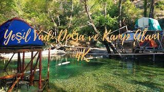 Yeşil Vadi Doğa Park ve Kamp Alanı Fethiye drone footage in 4K |TURKEY| #yeşilvadi #fethiye