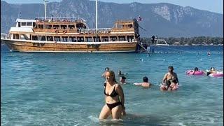 Muğla Marmaris İNCE KUM |  Beach Walking tour TURKEY