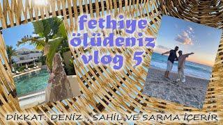Fethiye-Ölüdeniz Tatil Vlog 1/Su Altı Videoları/ Fethiye Balık Pazarı/ Bluelagoon/Kumburnu