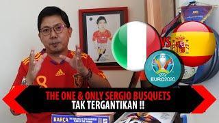 THE ONE & ONLY SERGIO BUSQUETS, TAK TERGANTIKAN !!