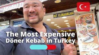 THE MOST EXPENSIVE DÖNER KEBAB IN TURKEY ????????