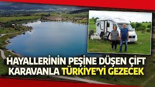 Kısıtlamada Torunlarını Büyüten Çift, Yasaklar Kalkınca Türkiye Turuna Çıktı