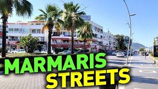 █ Гуляю по улицам Мармариса Турция / Marmaris streets Turkey  #1