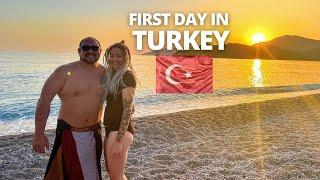 OUR FIRST DAY IN TURKEY ???????? | THIS IS PARADISE! | Ölüdeniz Fethiye.