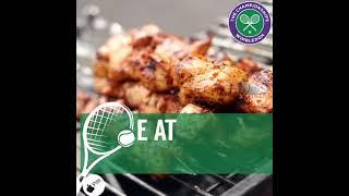 Grab front row seats at WIMBLEDON with a HOT meal ????
