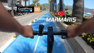 Xiaomi Mi 1S Electric Scooter - 9min. Long Ride (Environment Sound Only) Marmaris - Turkey