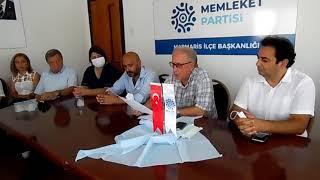MEMLEKET PARTİSİ MARMARİS SAHAYA ÇIKIYOR!
