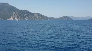 Wonderful Turkey - a trip on a boat from Marmaris to Turunç