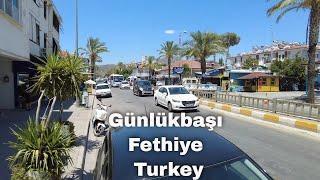 Walking in Günlükbaşı, Foça, Fethiye/Muğla, Turkey - June 30, 2021