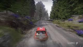 WRC 9 - Citroen WRC3 - Finlandia Rally (With Keyboard)